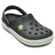 Crocs Crocband Clogs Kids Graphite/Volt Green